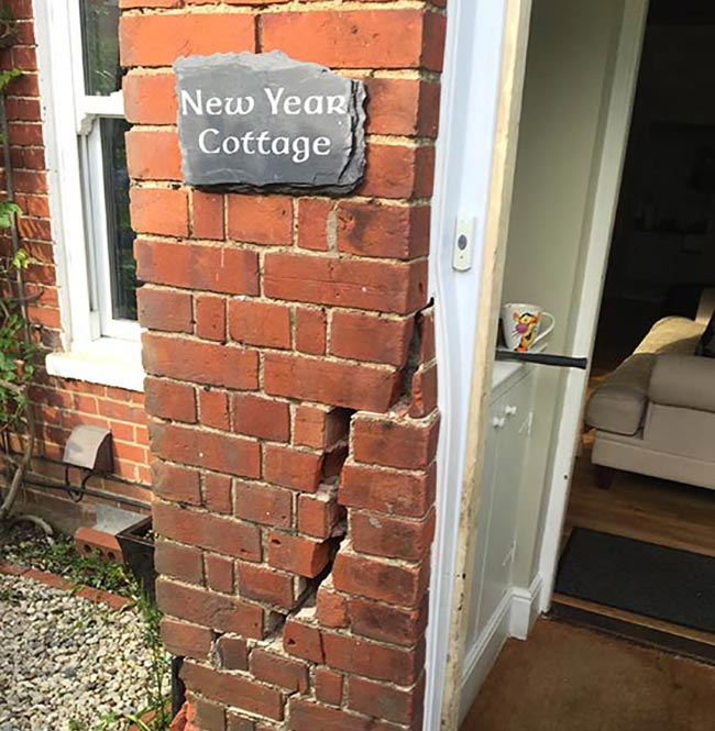 Once the main entrance to the property was secured by boarding-up we then proceeded to carry out a full Safety Assessment and provided expert guidance to the homeowner before leaving.